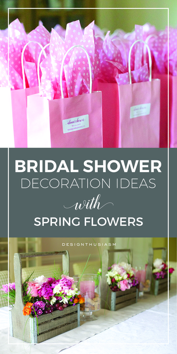 Diy wedding shower decorations  Peonies Wine and Sunshine  Blogger Home Projects We Love