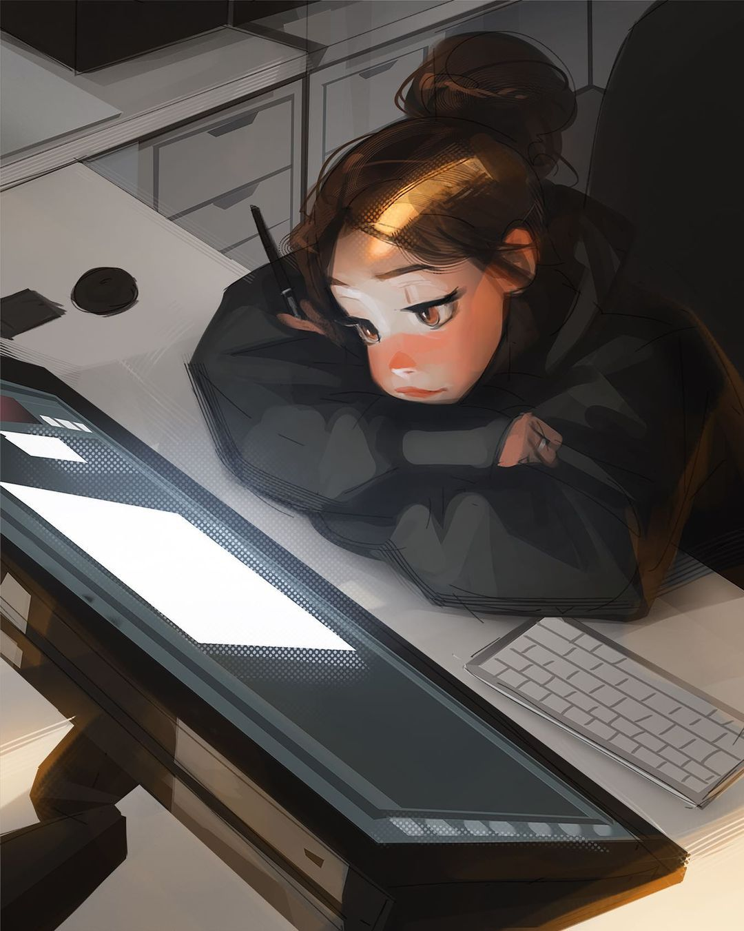 """Photo of Sam Yang on Instagram: """"We've all been there (2h) guys what are some things you do to overcome artblock? Leave em in the comments lets turn the comment section…"""""""