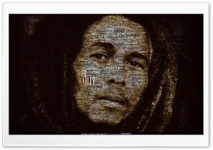 Bob Marley discography by Mateusz Latocha HD Wide Wallpaper for Widescreen