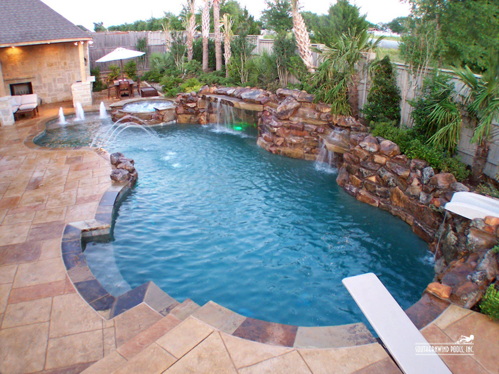When Design Really Matters Sacramento Custom Pools Fire Pits Waterfalls