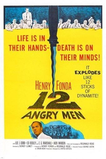 12 Angry Men Vintage Movie Poster Henry Fonda 24x36 Collectors Rare In 2020 12 Angry Men Movie Henry Fonda Movie Posters Vintage