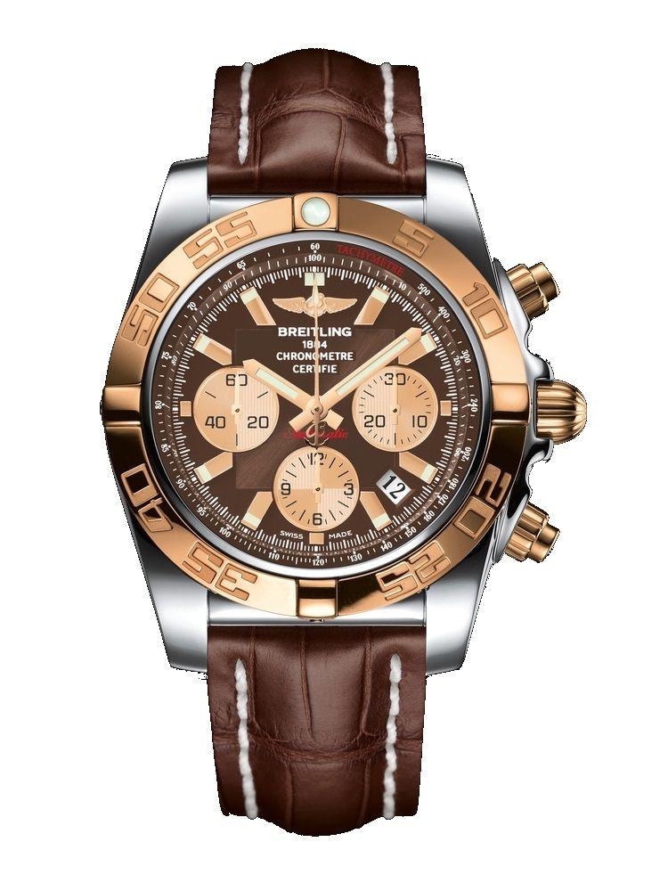 0b01992ef37 Breitling Chronomat 44 CB011012 Q576 740P A20D.1 Stainless Steel ...