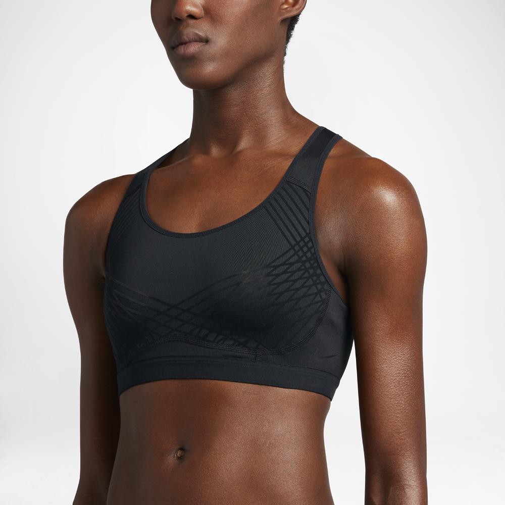 Nike Fierce Medium Support Not Padded Sports Bra Size L Clothing, Shoes & Accessories Activewear