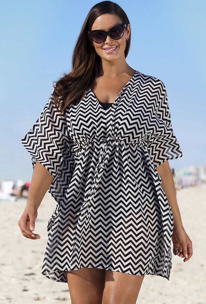 Plus Size Beach Cover UPS