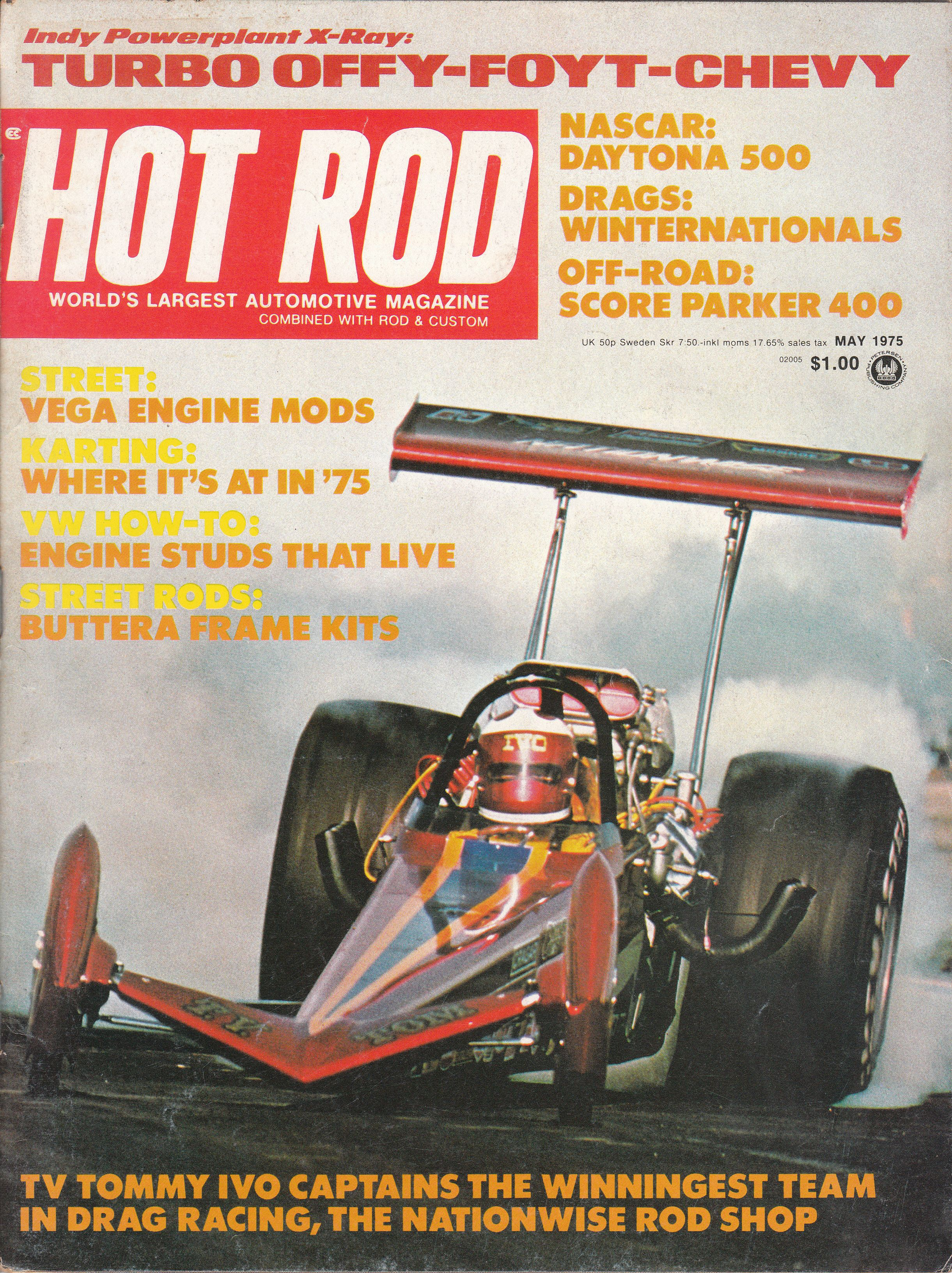 Hot Rod Volume 28 Issue 5 May 1975 1970 S Car And Truck