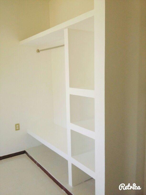 Closet drywall tablaroca closet royal drywall for Closet de tablaroca modernos
