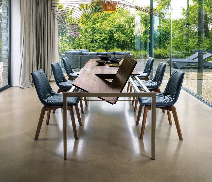 Artur Extending Dining Table In 2019: Super Slim Tak Ding Table Extension Mechanism