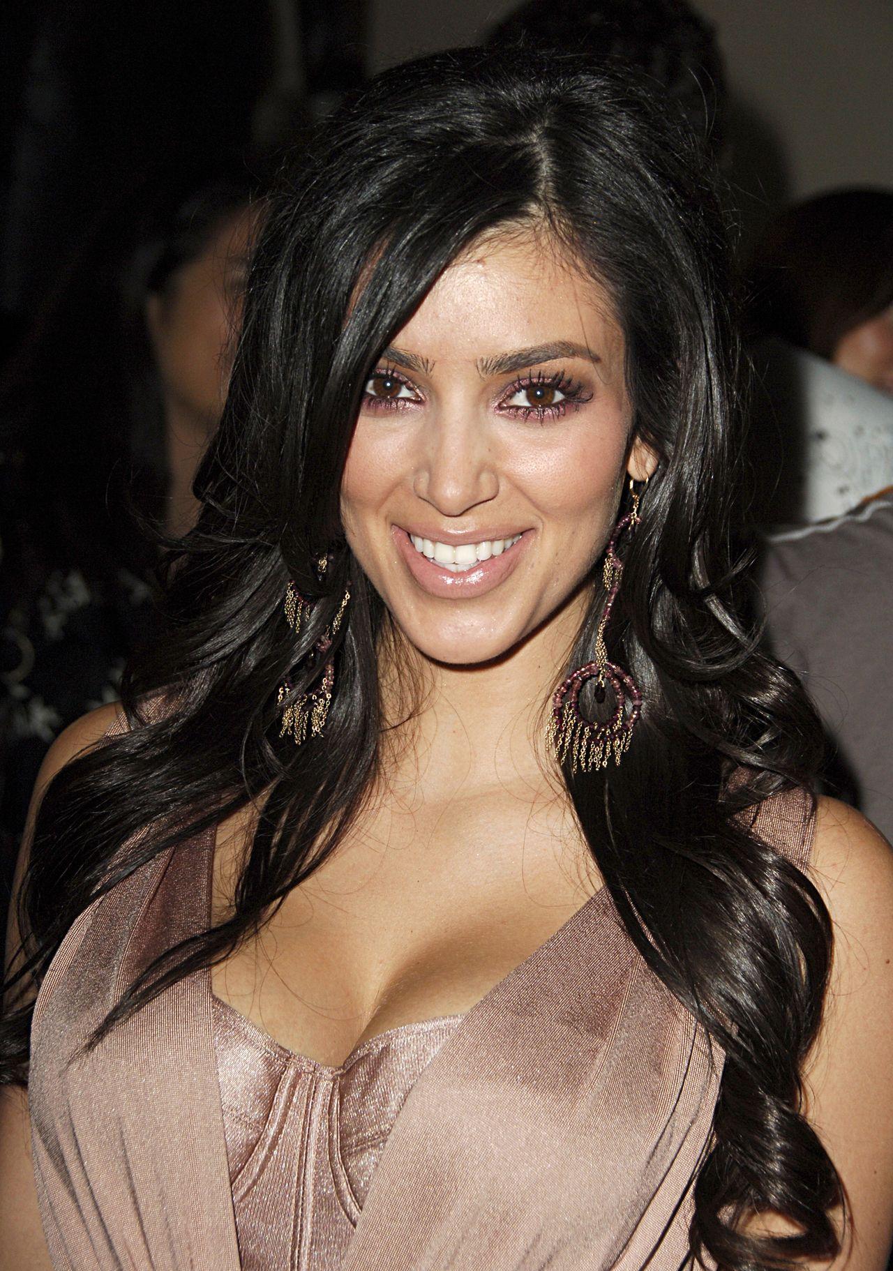 Ringlets: Old Photos of Kim Kardashian - Celebrity ...