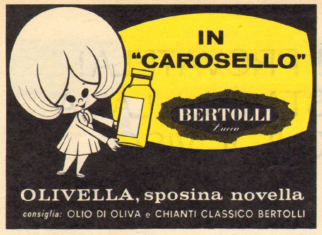Conosciuto BERTOLLI CASTELLINO CAROSELLO olivella anni 70Curiosando Negli  JI12
