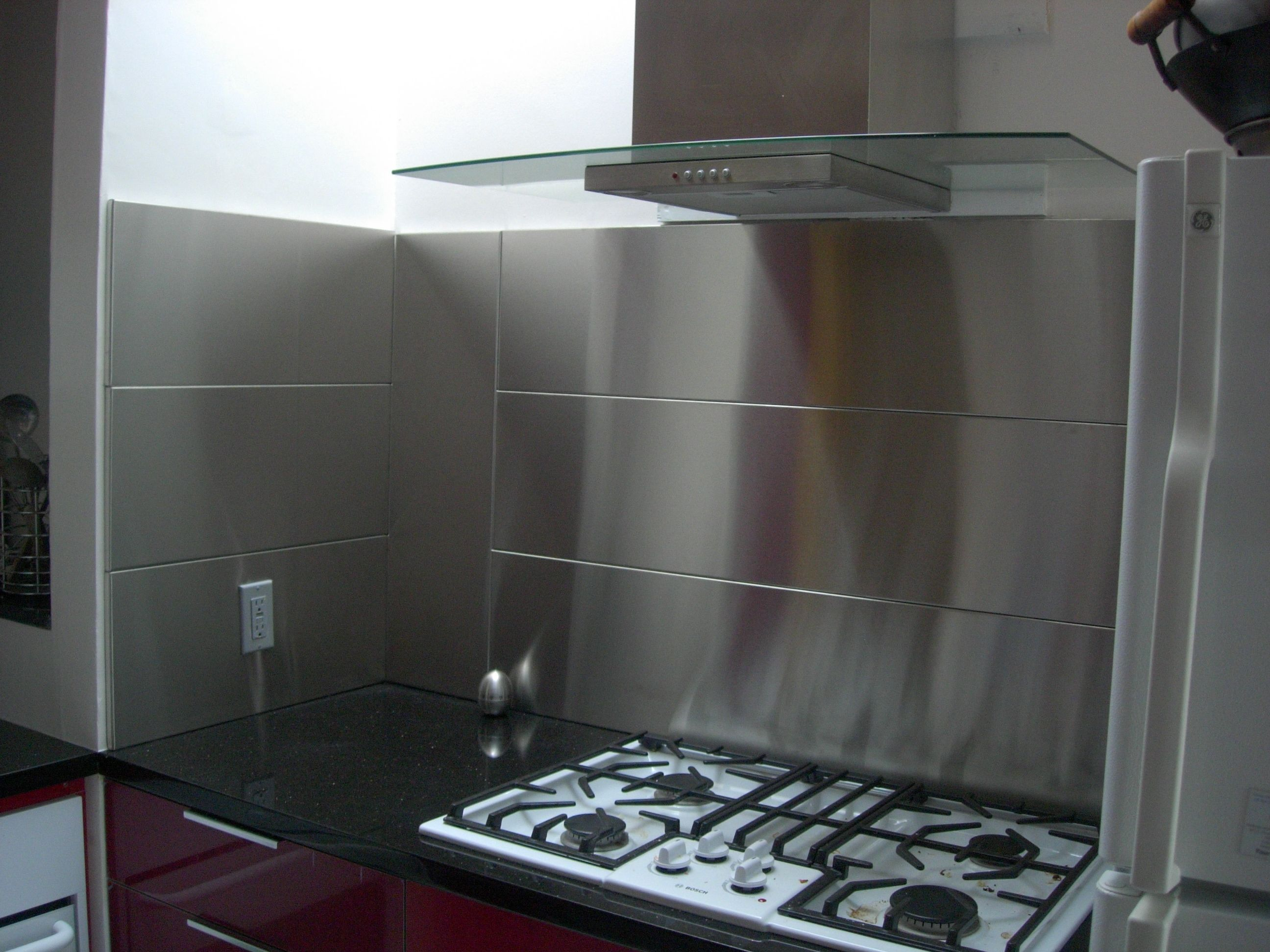 Ikea Stainless Steel Backsplash Fastbo Rails Come In Lengths Of
