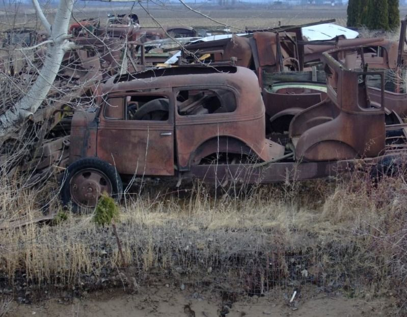 Art & Inspiration Junk Yard Photo's Abandoned cars