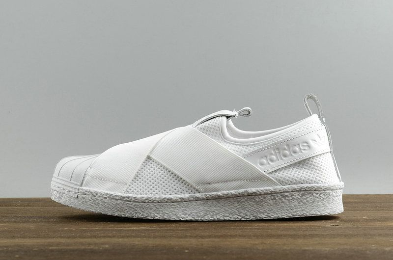 online store e2c19 14401 Latest and Cheapest Adidas Originals Superstar Slip On W ...