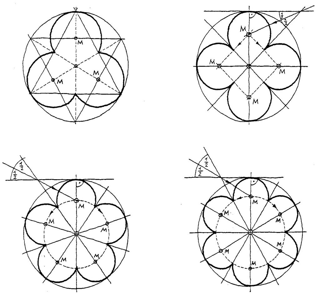 Image result for gothic cathedral tracery geometry