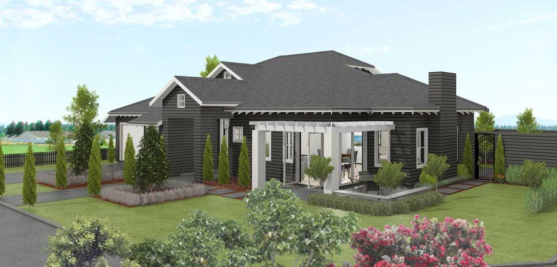 house glentui 3 bedroom house design landmark homes builders nz - House Plans Landmark Homes New Zealand