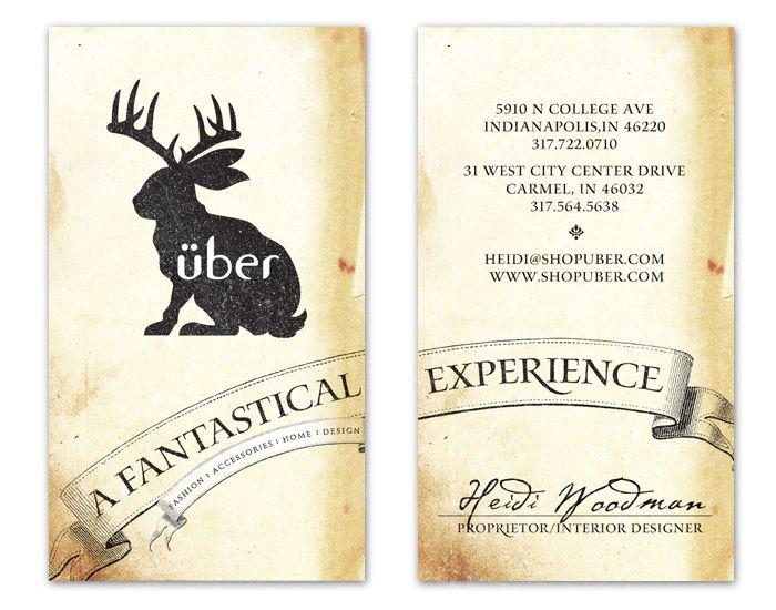 Uber boutique business card design inspiration card nerd neta uber boutique business card design inspiration card nerd reheart Gallery