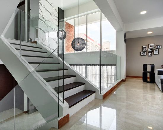 Living Room White High Gloss Tile Floor Design, Pictures, Remodel, Decor  And Ideas