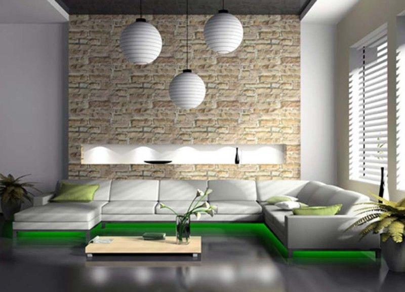 20 Modern Living Room Interior Design Ideas Living rooms, Modern - beleuchtung für wohnzimmer