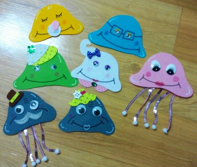 jellyfish family | Cookies, Desserts, Food