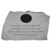 58720 Goodbyes are not...W/marble insert