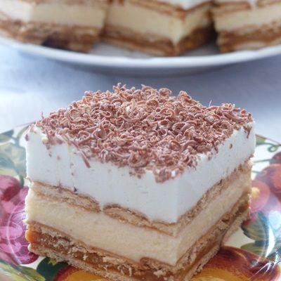 Ciasto Bez Pieczenia Z Budyniem I Herbatnikami Doradcasmaku Pl Recipe Food Cake Recipes Desserts