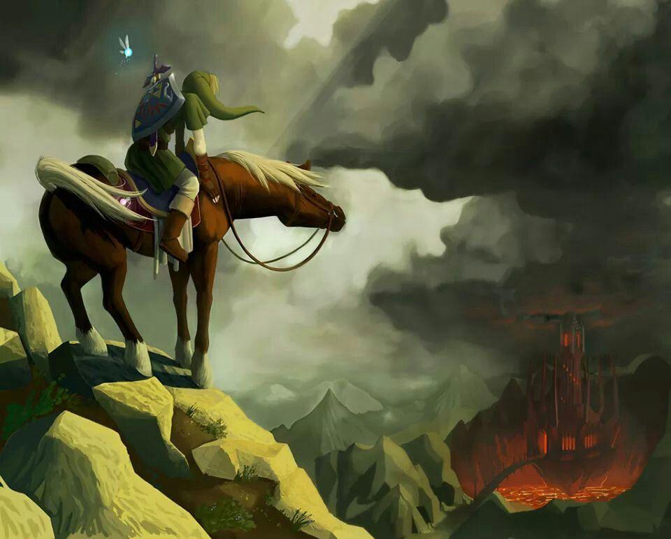 Riding upon Death Mountain