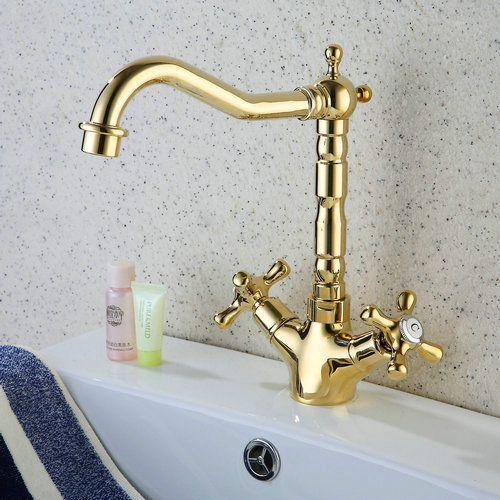 Ti finition pvd antique robinet cuisine inspir e en laiton r0415g robinet salle de bain - Robinetterie laiton salle de bain ...