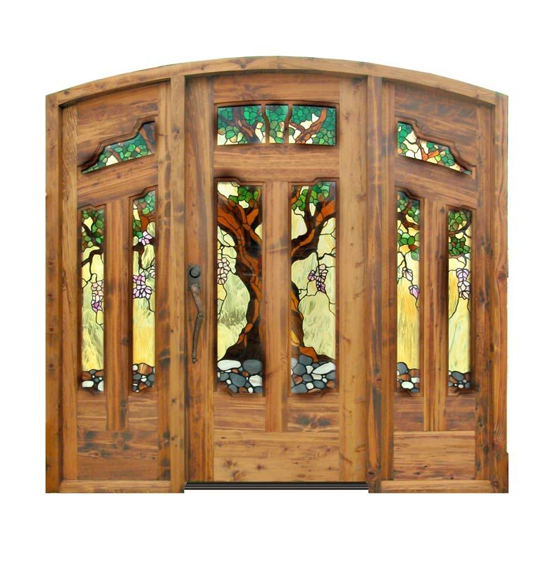 Astounding wood entry doors with leaded glass ideas ideas house how wonderful stained glass doors home deco n diy x pinterest planetlyrics