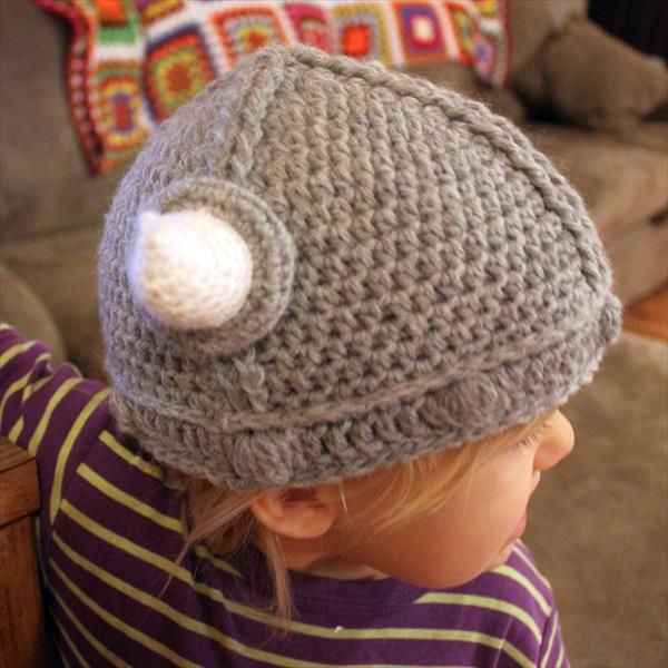 lael Viking Crochet Hat Pattern | Vikings, Crochet and Kids crochet