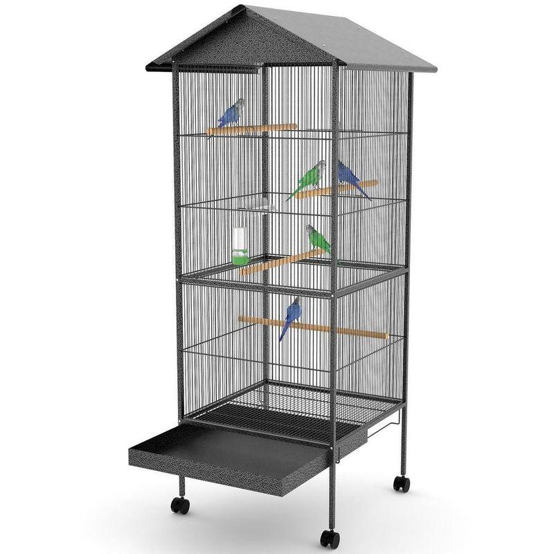 Volière Cage à Oiseaux Nuit XXl 157 Cm - MERCATOXL
