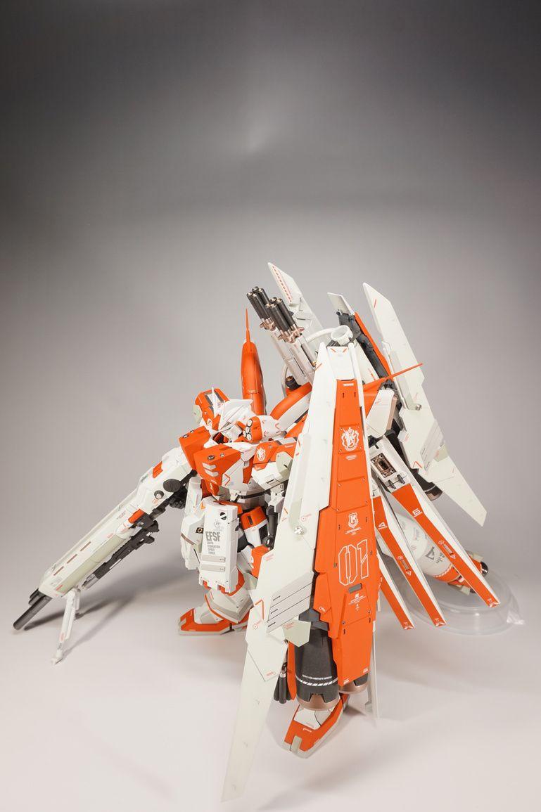 "Custom Build: MG 1/100 hi-nu Gundam Ver. Ka ""Test Image Color"" - Gundam Kits Collection News and Reviews"