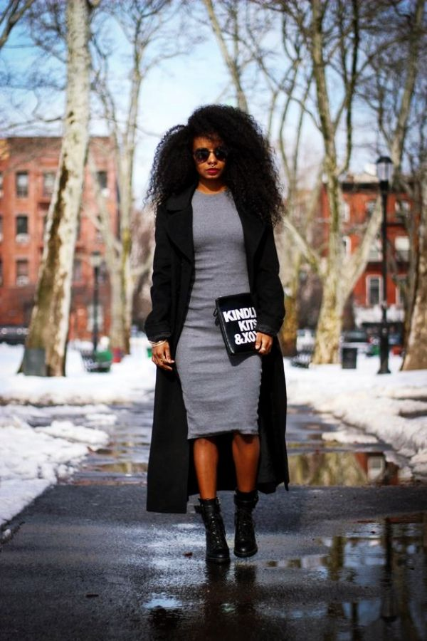 Casual Work Outfits For Black Women Fashion Grey