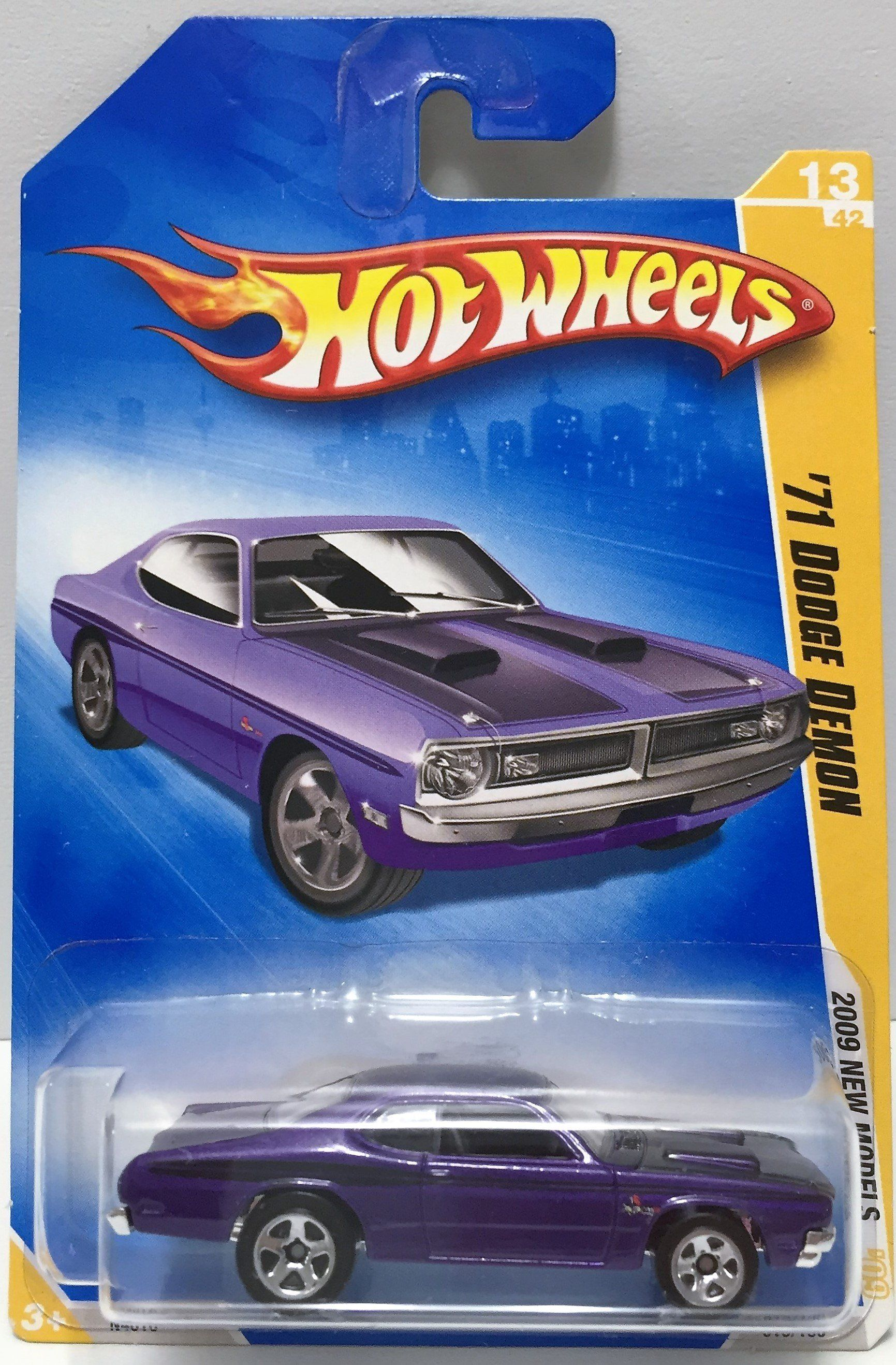 Hot toys car  TAS  Mattel Hot Wheels DieCast Car  u Dodge Demon