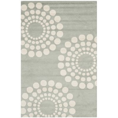 "Red Barrel Studio Bartlet Gray Rug Rug Size: 3'6"" x 5'6"""
