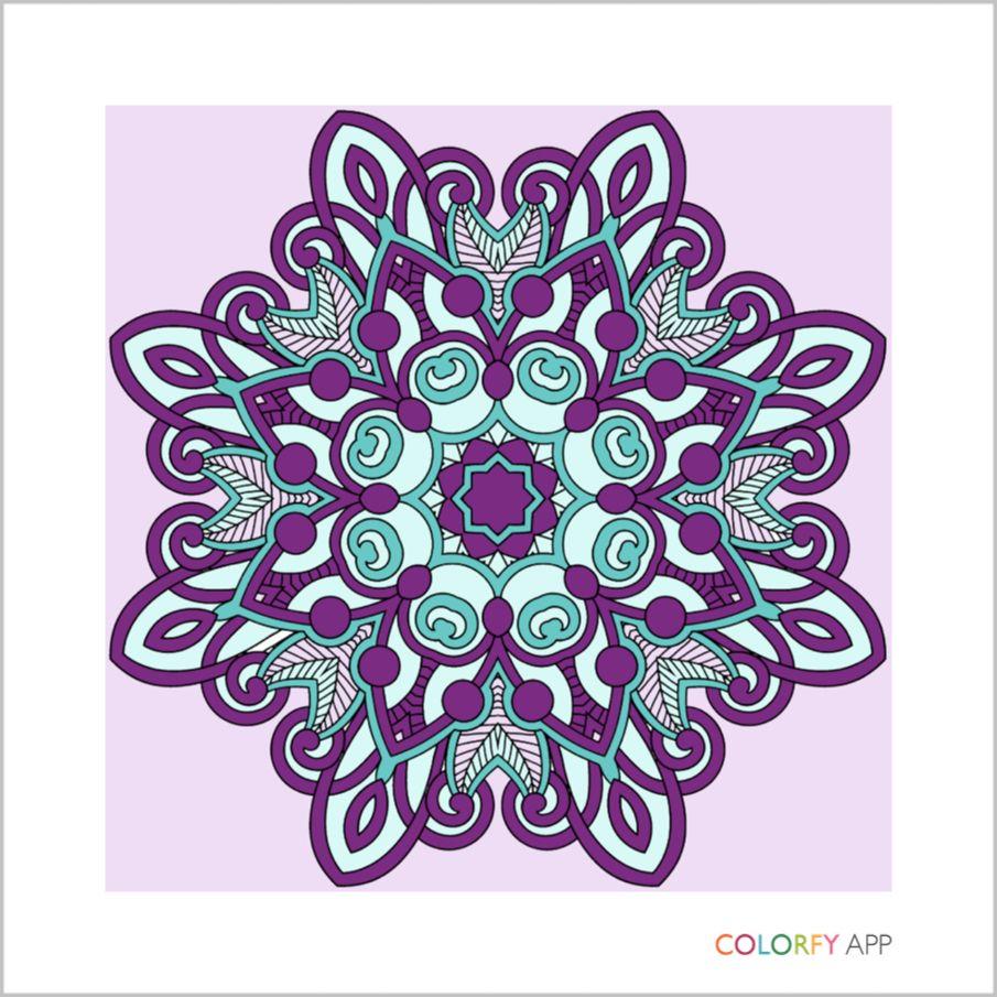 Idea by Nicki Christou on Colourfly Colorfy app, Peace