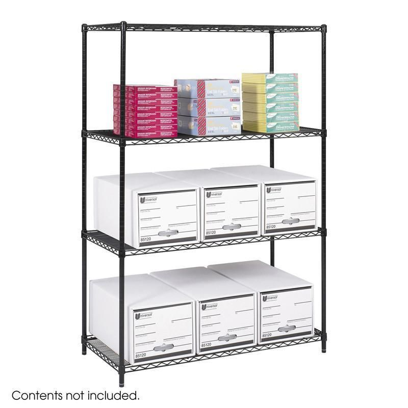 5294BL Industrial Wire Shelving, 48 x 24\