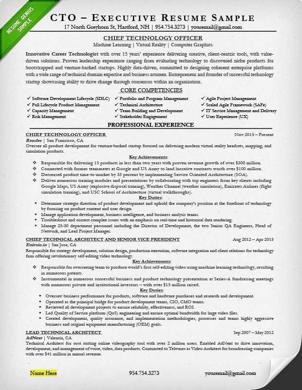 Executive Resume Examples Writing Tips Ceo Cio Cto Executive Resume Executive Resume Template Resume Writing Samples