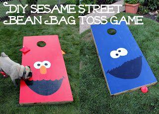 Sesame Street First Birthday Party Sesame Street 1st bday party