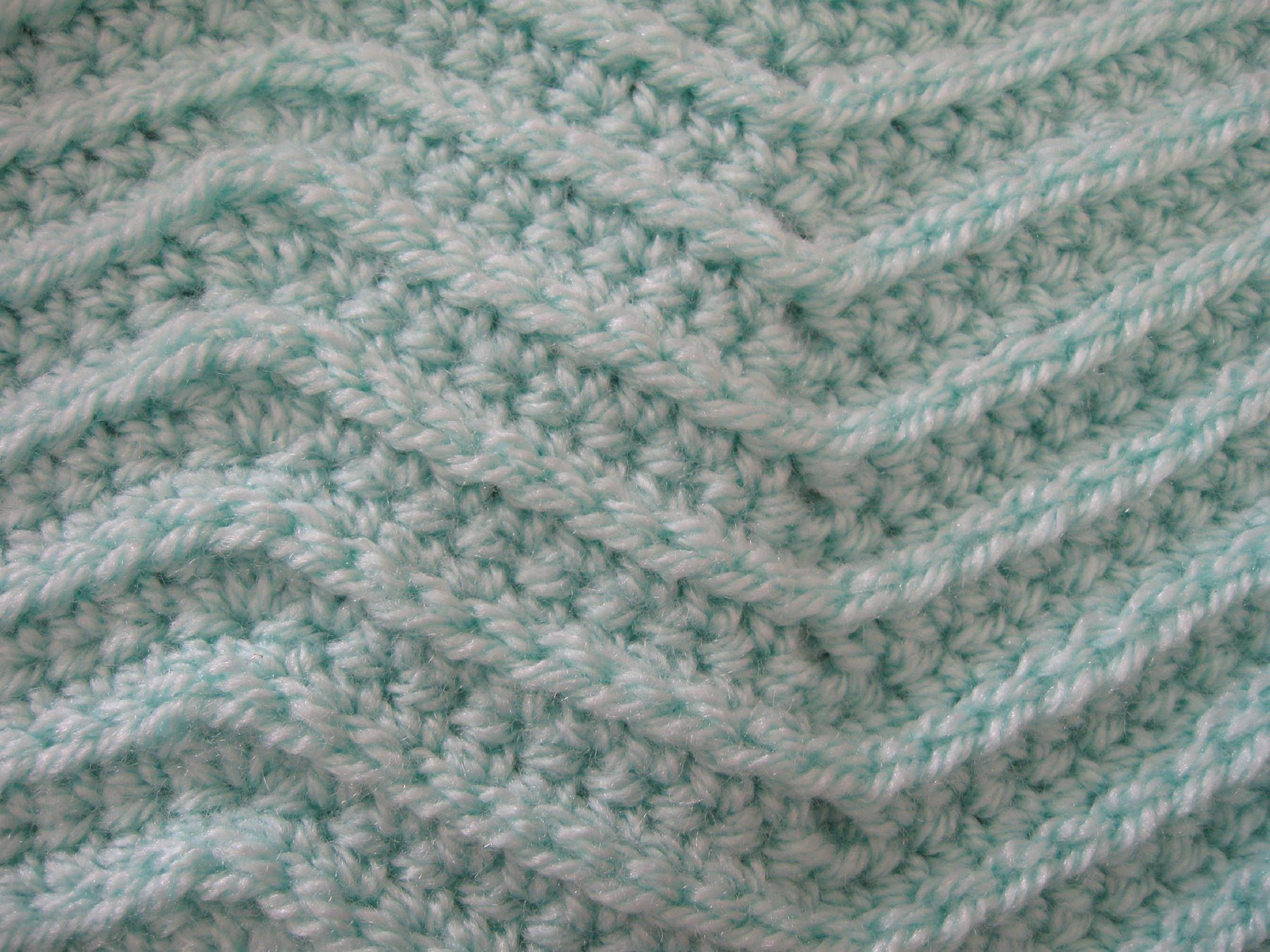 Crochet tutorial that teaches you how to crochet a reversible crochet tutorial that teaches you how to crochet a reversible ripple zig zag stitch which can bankloansurffo Images