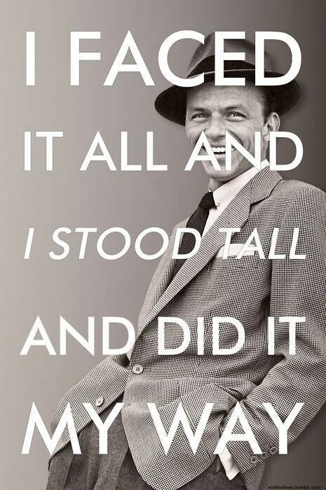 Frank sinatra song quotes