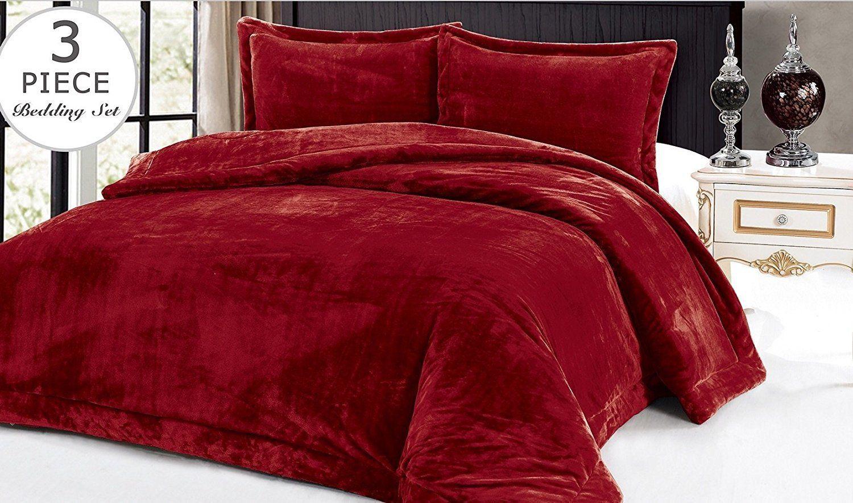 "Comforter Set Supreme Plush 90""Hx90""W/2x20""26"