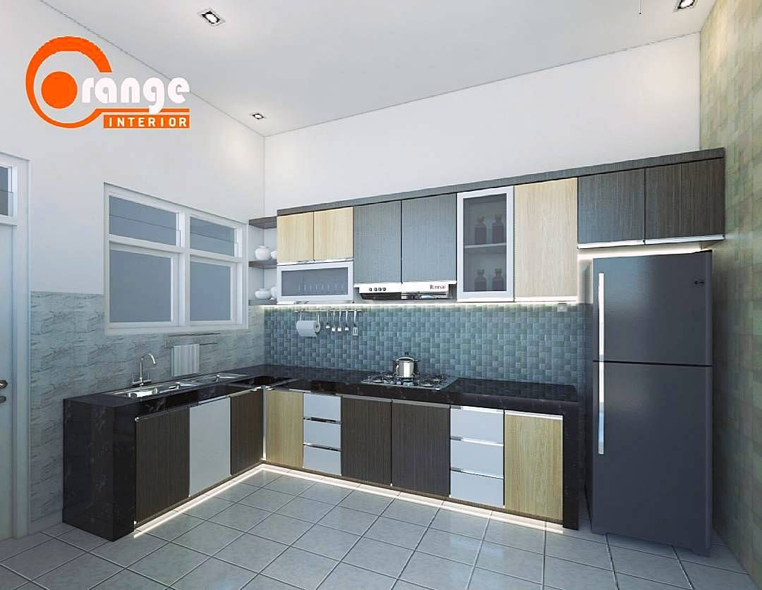 model kitchen set sederhana dapur minimalis idaman