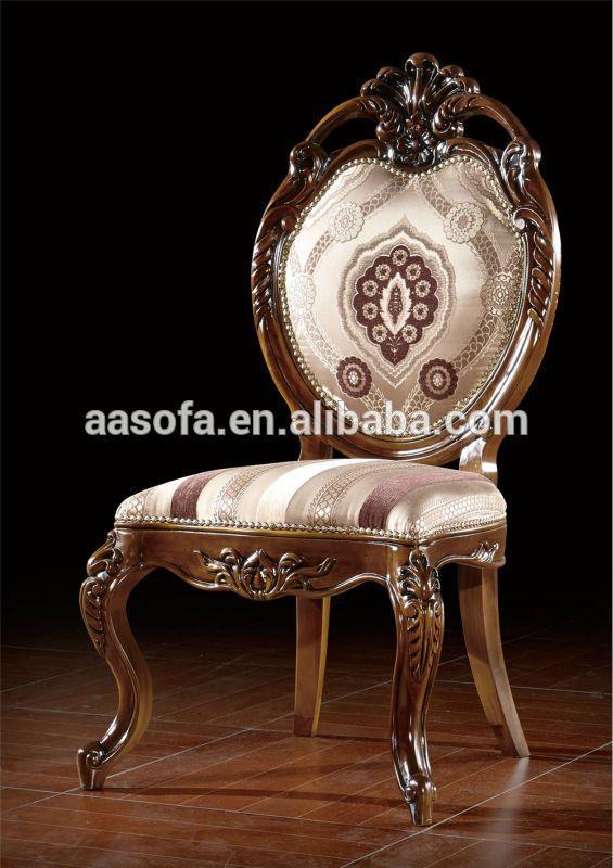 Muebles clásicos, de madera de lujo comedor, juego de comedor ...
