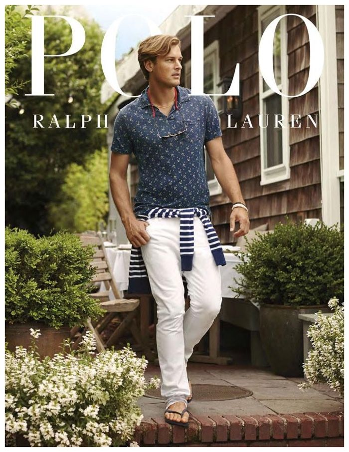 Polo Ralph Lauren Showcases Brightly Colored Shirts   Polos for Cruise 2015  Campaign 575bed50535b