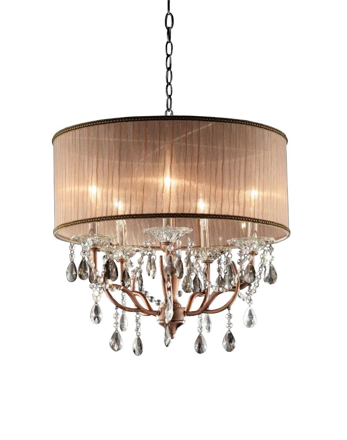 Close To Ceiling Lights Endearing Ok5126H 25Inch Rosie Crystal Ceiling Lamp  Close To Ceiling Light Review