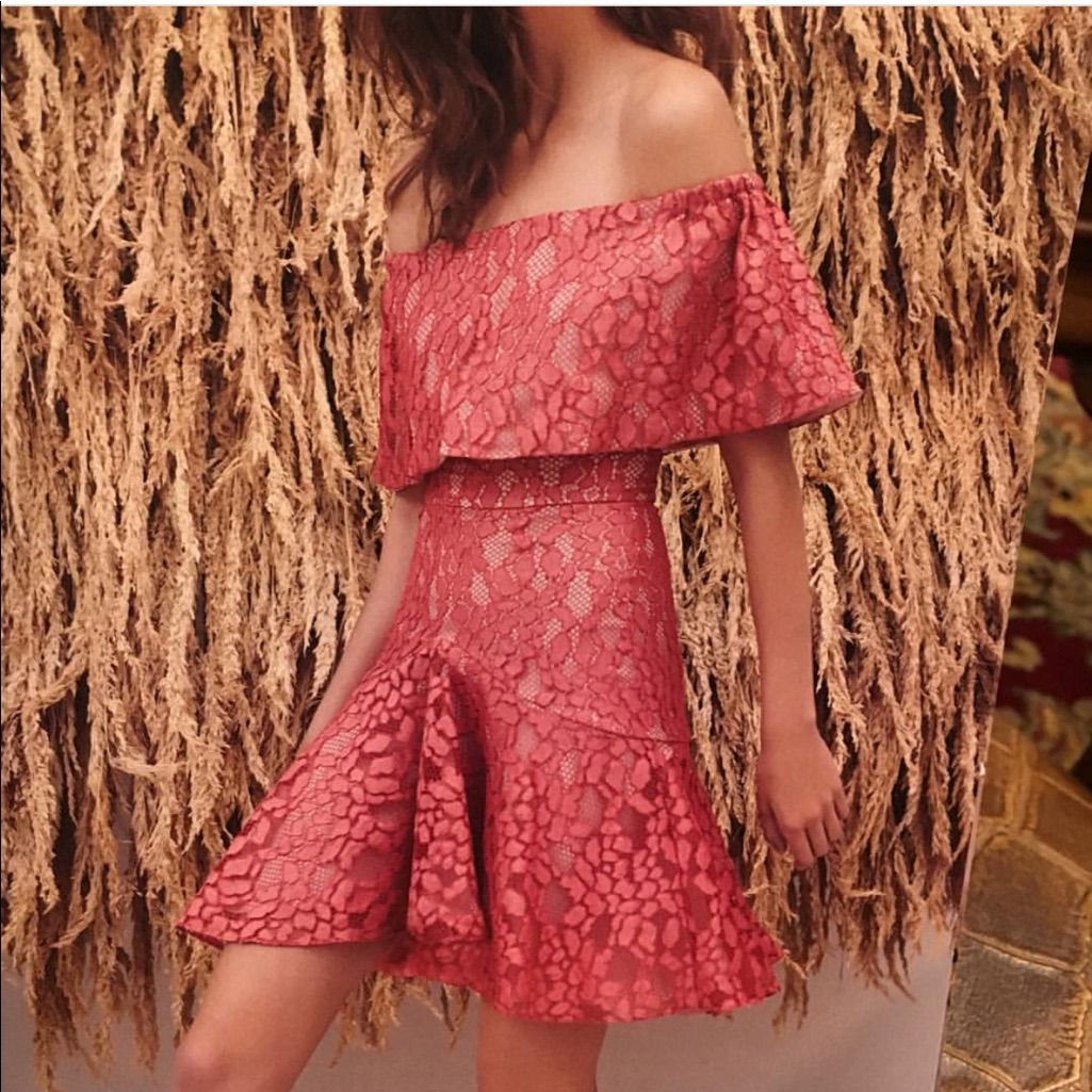 Alexis 2 Piece Lace Top And Skirt (Dress)