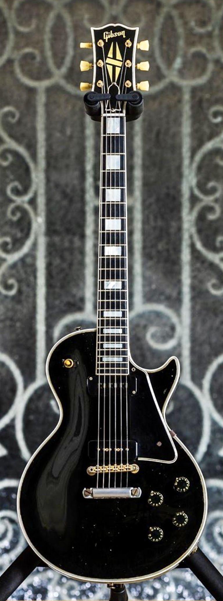 Paul Kossoff's 1955 Gibson Les Paul Custom #gibsonlespaul