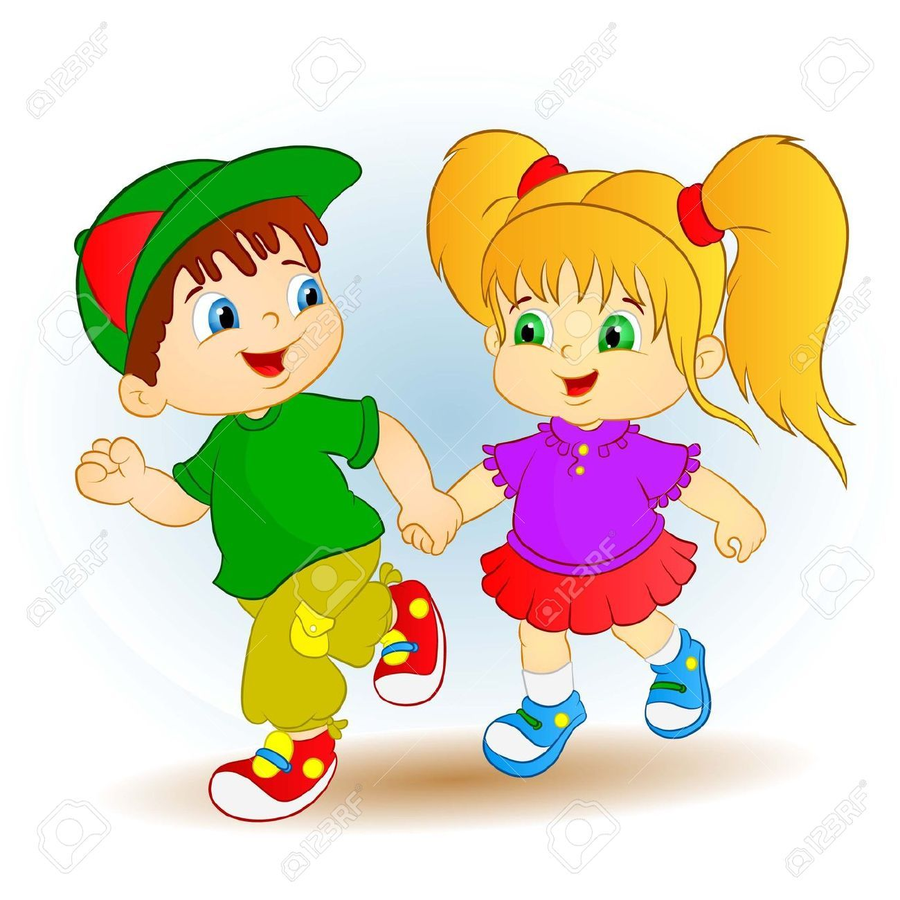Image result for cartoon boy and girl Kids clipart, Cute