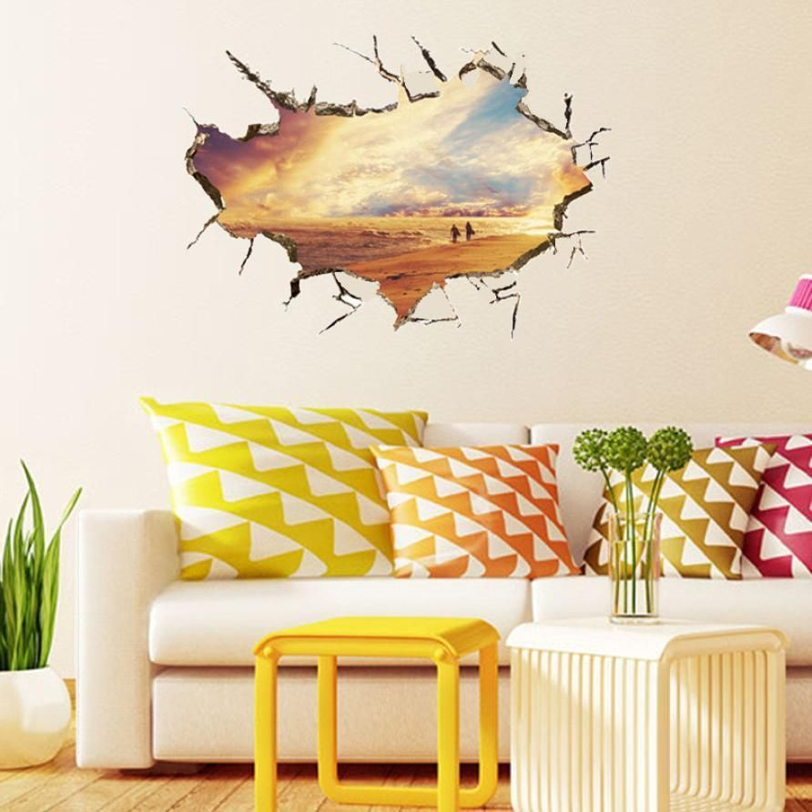 3D wall stickers home decor wall art | Products | Pinterest | Wall ...