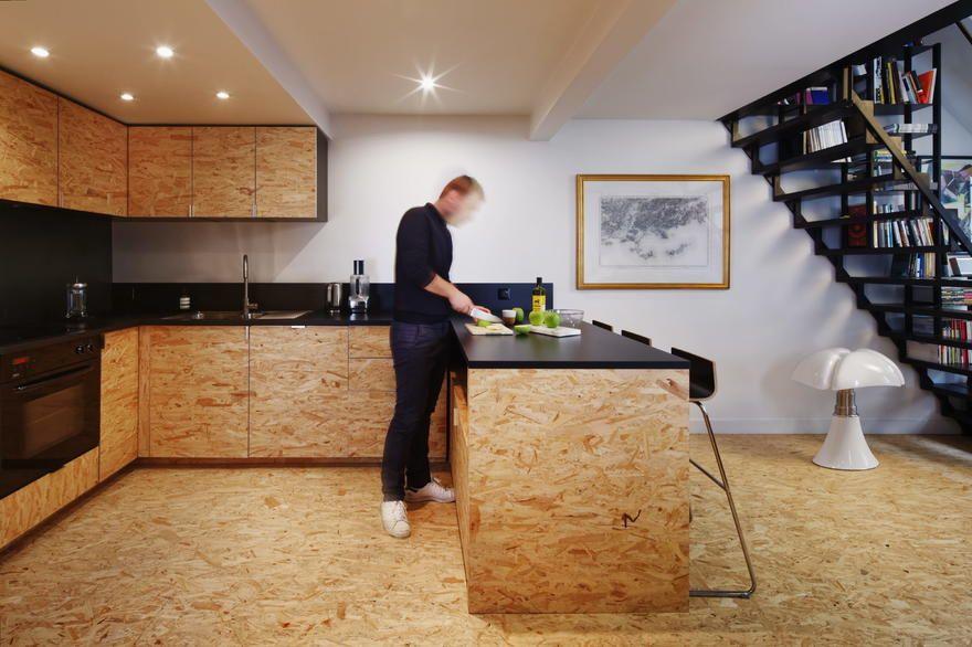 Small Apartments Attic Renovation Attic Remodel Osb Wood