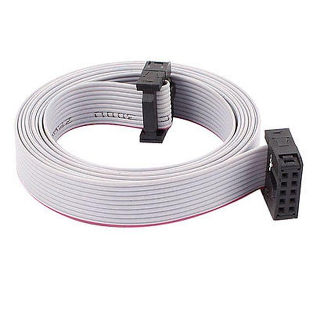 Custom 1.27mm ul2651 28awg 10 pin flat ribbon cable   Ribbon Cable ...